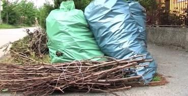 Zsákos hulladékszállítás változás
