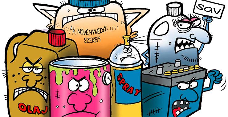 Leadott veszélyes és elektronikai hulladékok mennyisége